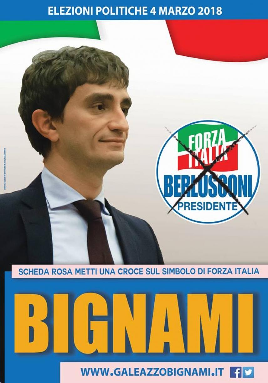 Galeazzo bignami candidato per forza italia alla camera for Deputati di forza italia